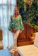 Alexis Alexis Idir Top Emerald Floral