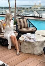 Devon Windsor Gabby Dress Off-White