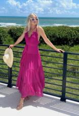 Alexis Alexis Tasha Long Dress Fuschia