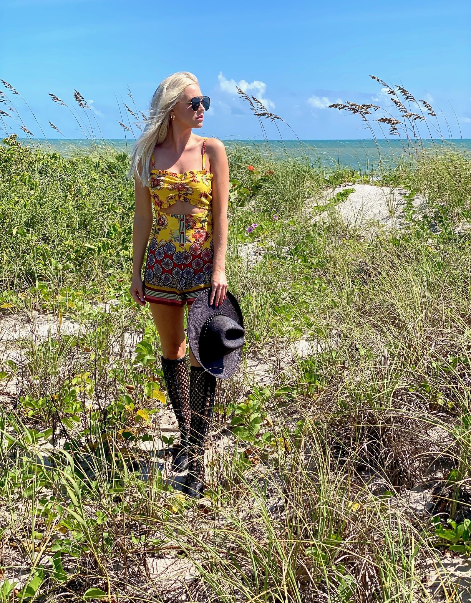 Alexis Alexis Florian Shorts Amber Bloom