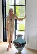 Devon Windsor Gabby Dress Gold