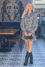 Alexis Amrei Dress Onyx Wave