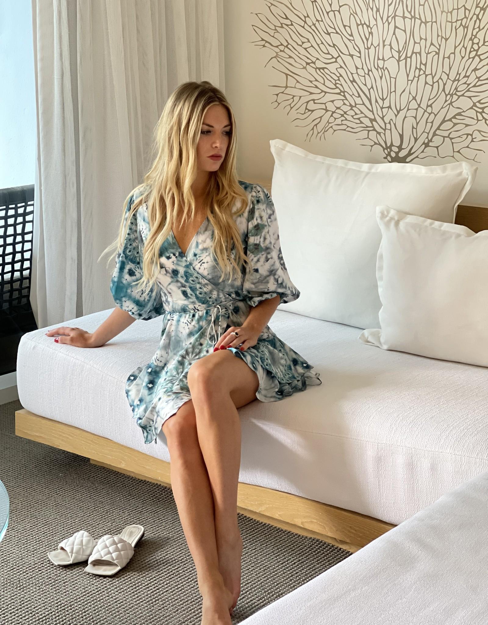 Alexis Lucine Dress Seaglass