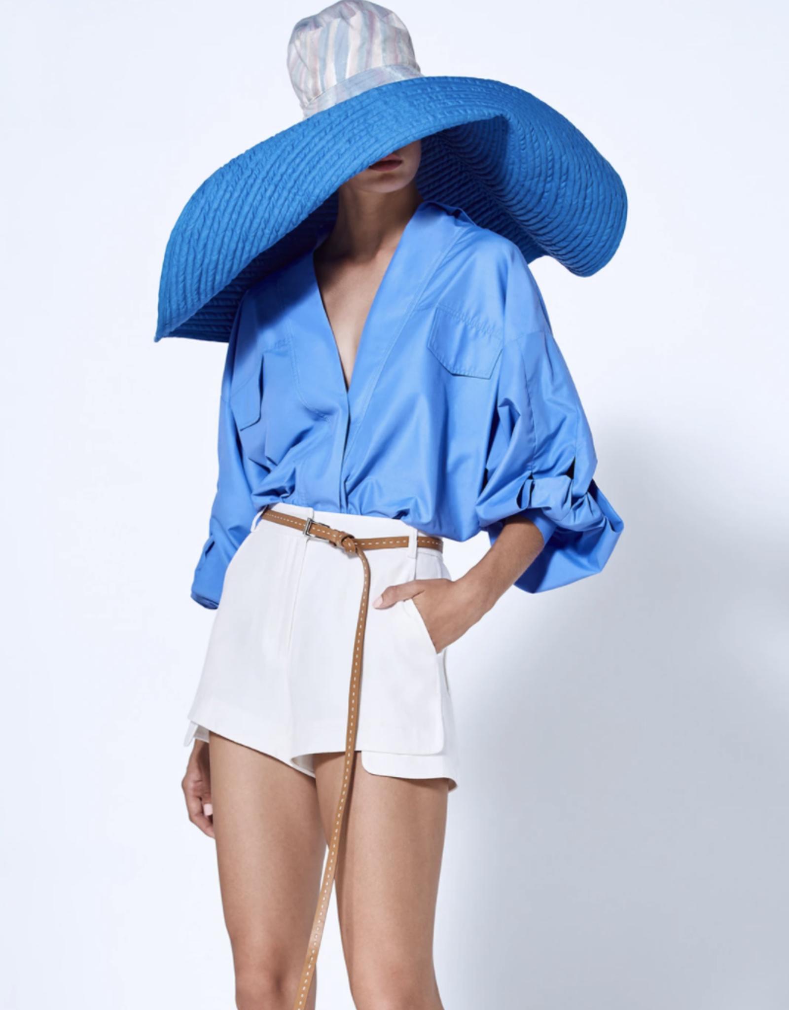Alexis Carrington Top Azul