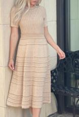 Alexis Michella Dress Dusty Gold