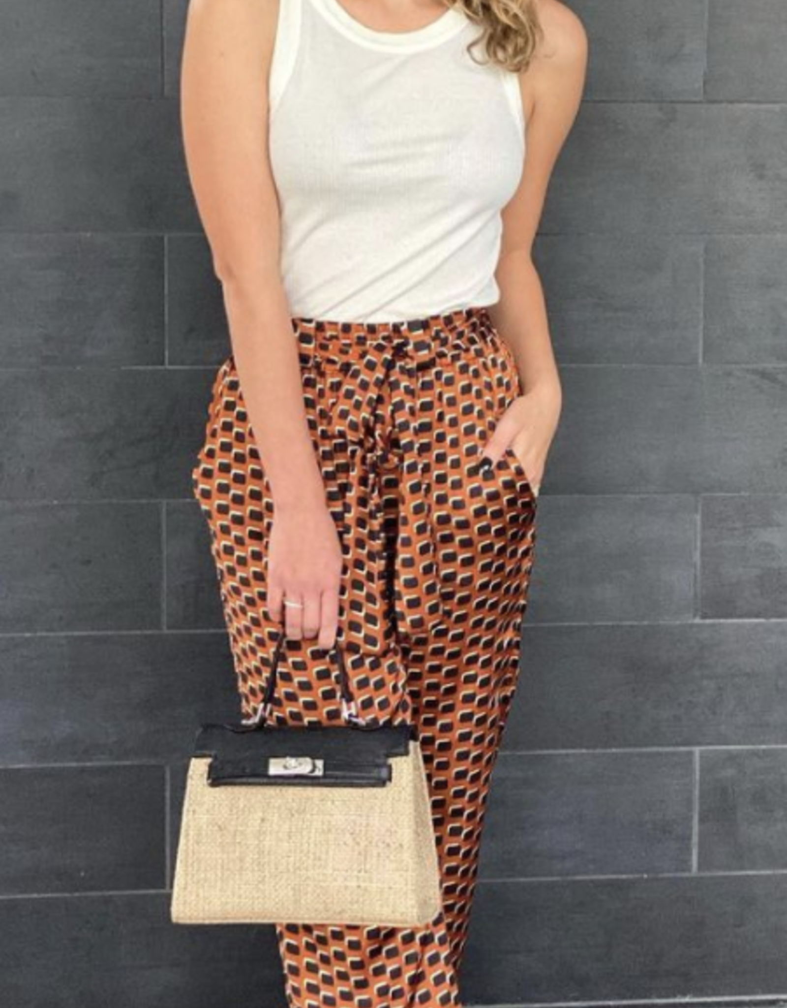 Alexis Tanner Pant Amber