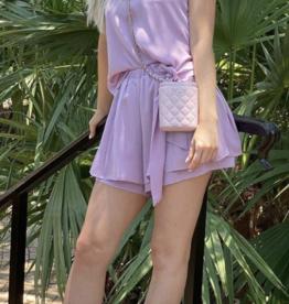 Nonchalant Skylar Short Lavender