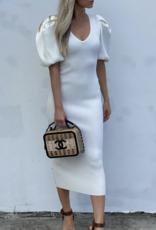 Rony Kobo Carli Knit Dress Eggshell