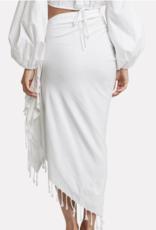 Just Bee Queen JBQ Tulum Skirt White