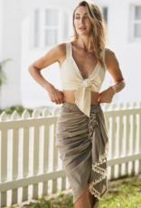 Just Bee Queen JBQ Tulum Skirt Casablanca Moss