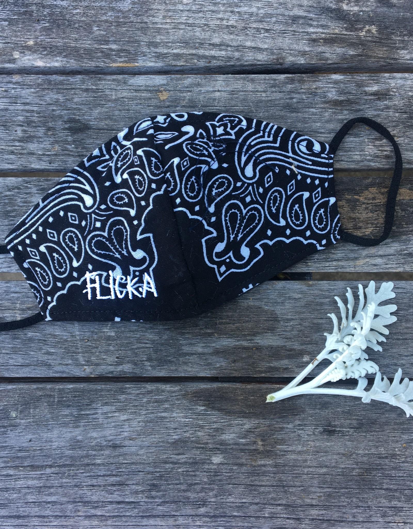 FLICKA Bandana and Printed Face Mask