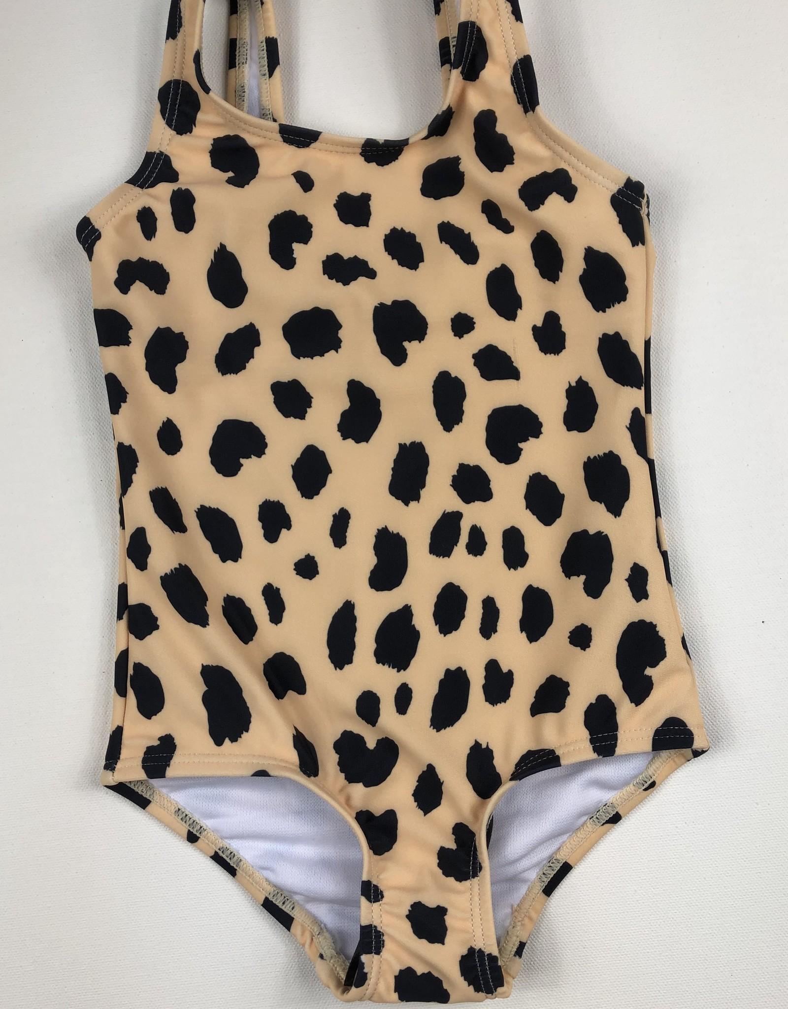 HUXBABY Animal Spot Swimsuit