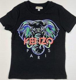 Kenzo Elephant Tee Blk