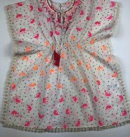 ALMIRAH Tia Dress Orange