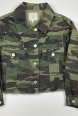 HAY Camo Cropped Jacket