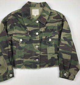 HAY Camo Cropped Jacket