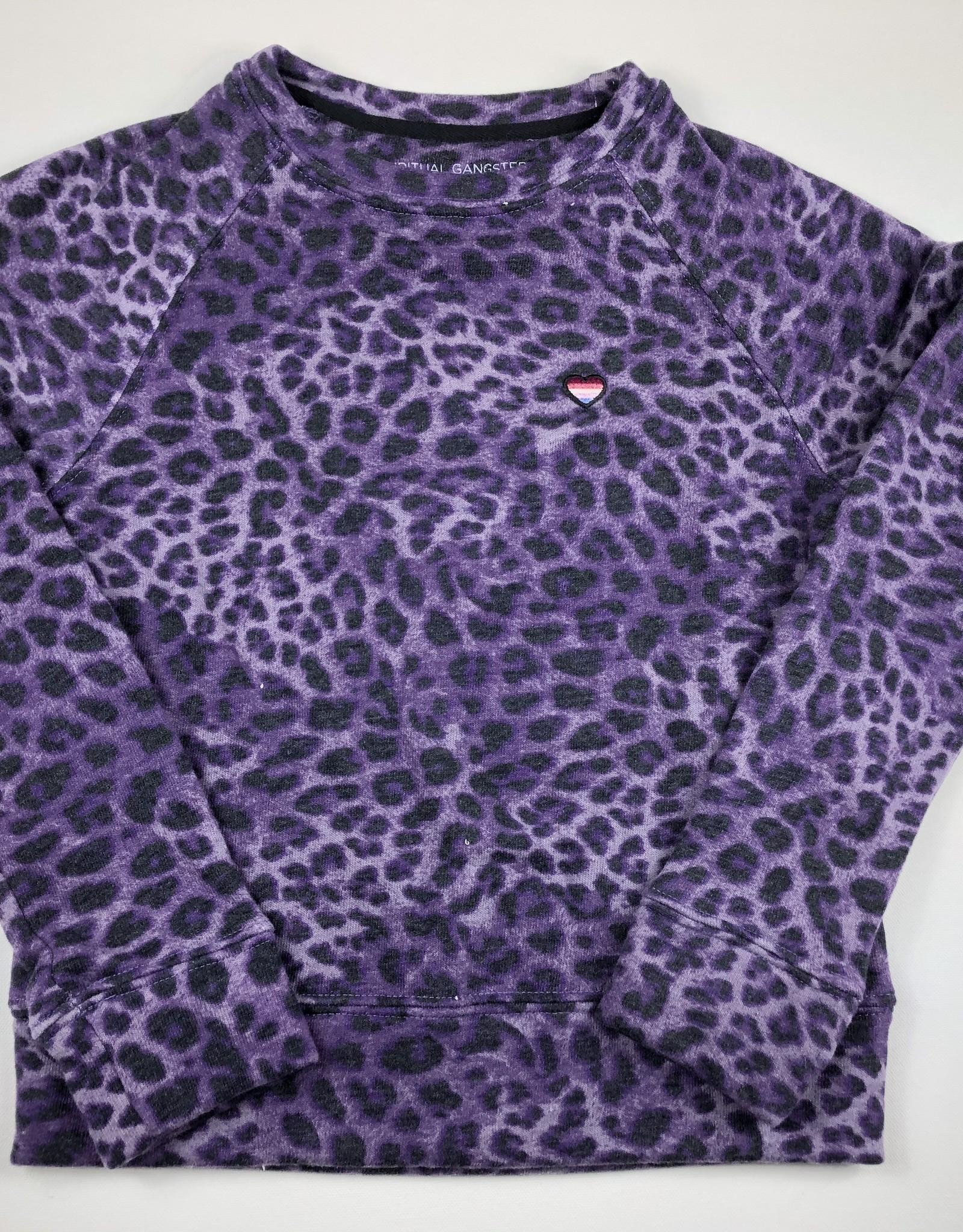 Spiritual Gangster Cheetah Sweatshirt