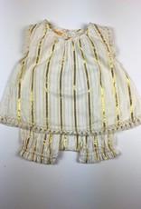 ALMIRAH Dee Dress Gold