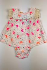 ALMIRAH Eve Dress Orange