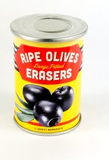 Fred & Friends UNCANNY - OLIVE ERASERS-6