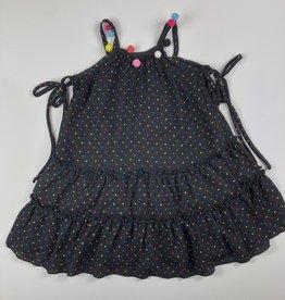 Little Mass Dotted Dress blk