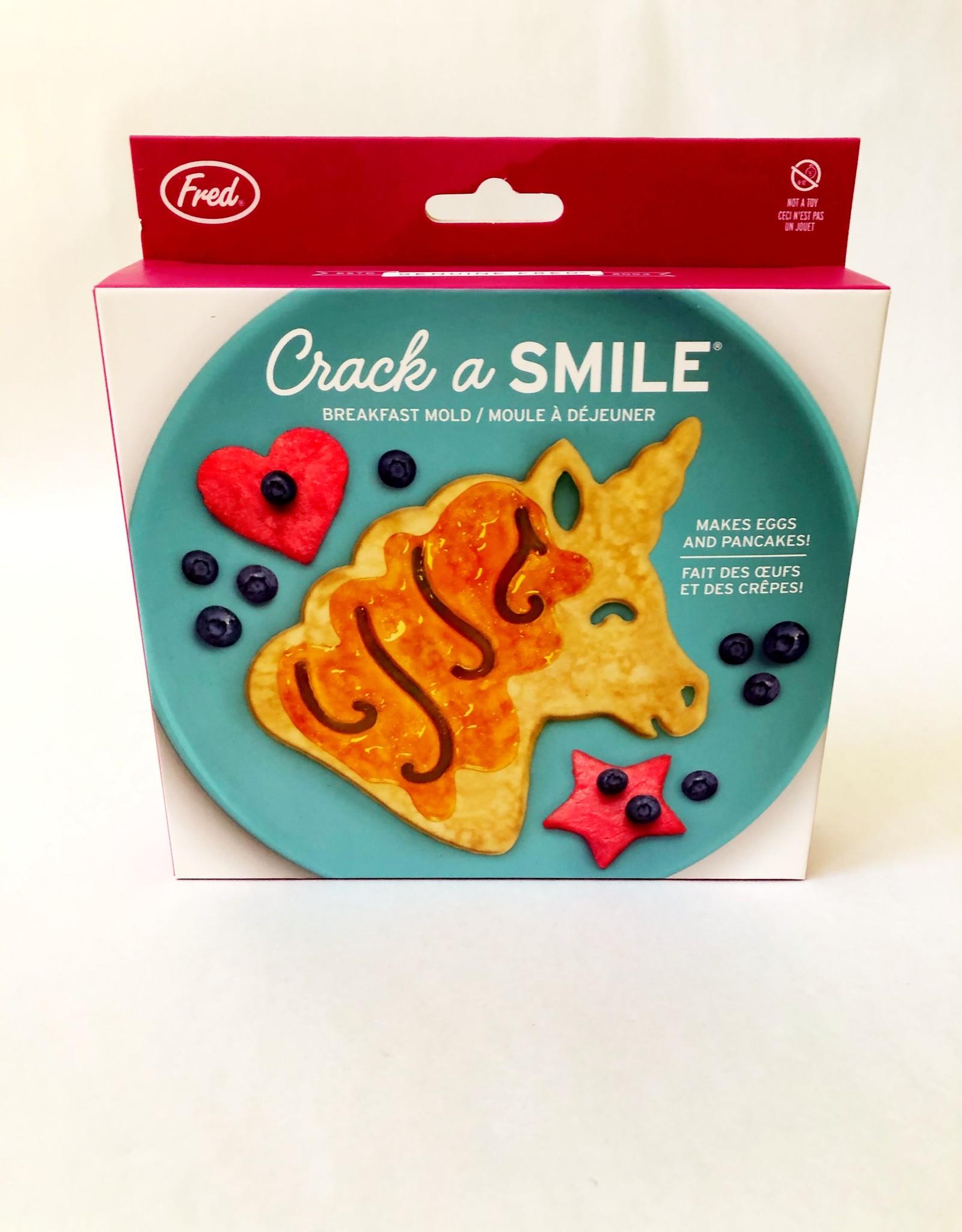 Fred & Friends CRACK A SMILE - UNICORN BFAST MOLD