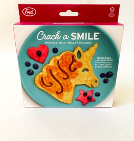 Fred & Friends CRACK A SMILE - UNICORN BFAST MOLD
