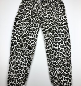 FLOWERS BY ZOE Leopard Sweatpants