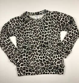 FLOWERS BY ZOE Leopard Sweatshirt