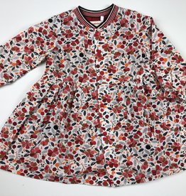 CATIMINI Catimini Red Floral Dress