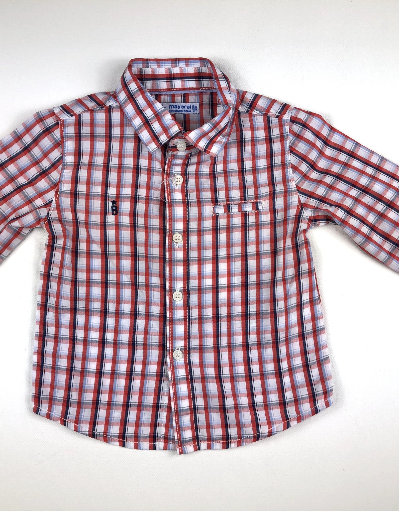 Mayoral Plaid Oxford