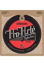 DAddario Fretted SET  PRO-ARTE CLR/80-20 NORM