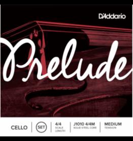 D'Addario D'Addario Prelude Cello String Set, Medium Tension