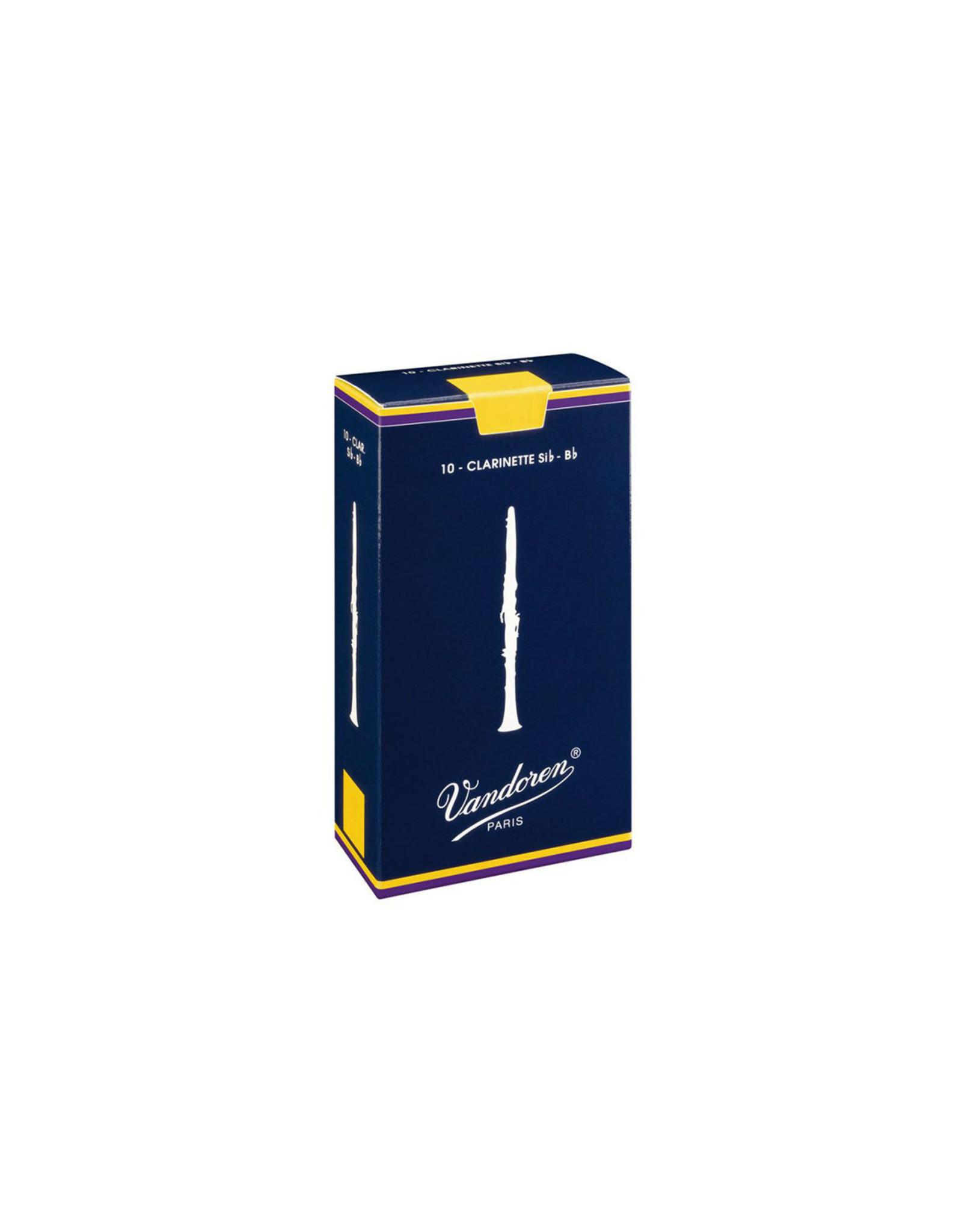 Vandoren Vandoren Traditional Bb Clarinet Reeds Box of 10
