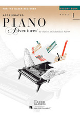 Hal Leonard Faber Accelerated Piano Adventures Theory Book
