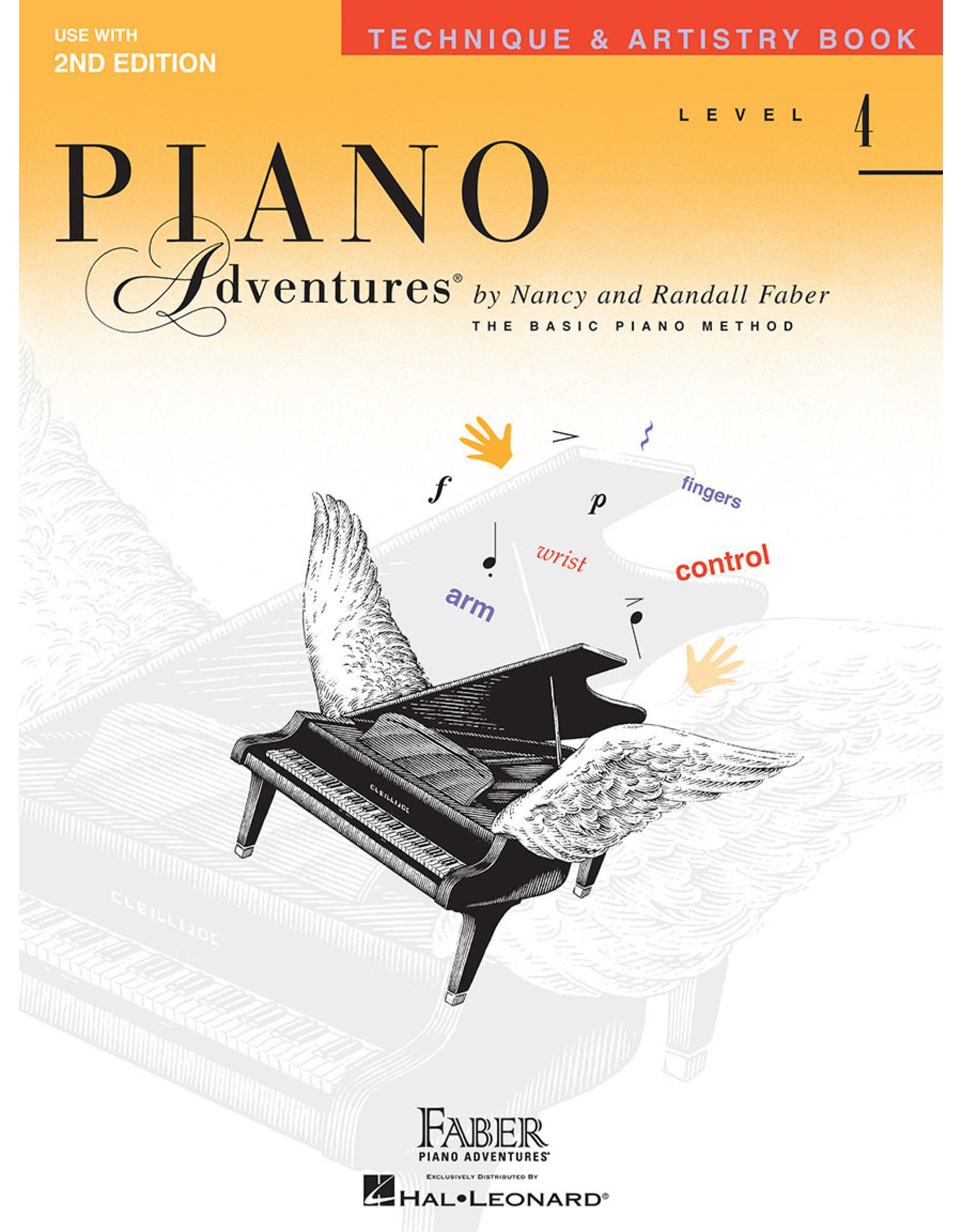 Hal Leonard Faber Piano Adventures Technique & Artistry Book