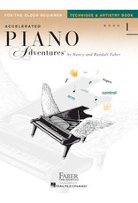 Hal Leonard Accelerated Piano Adventures for the Older Beginner Technique & Artistry, Book 1 Faber Piano Adventures