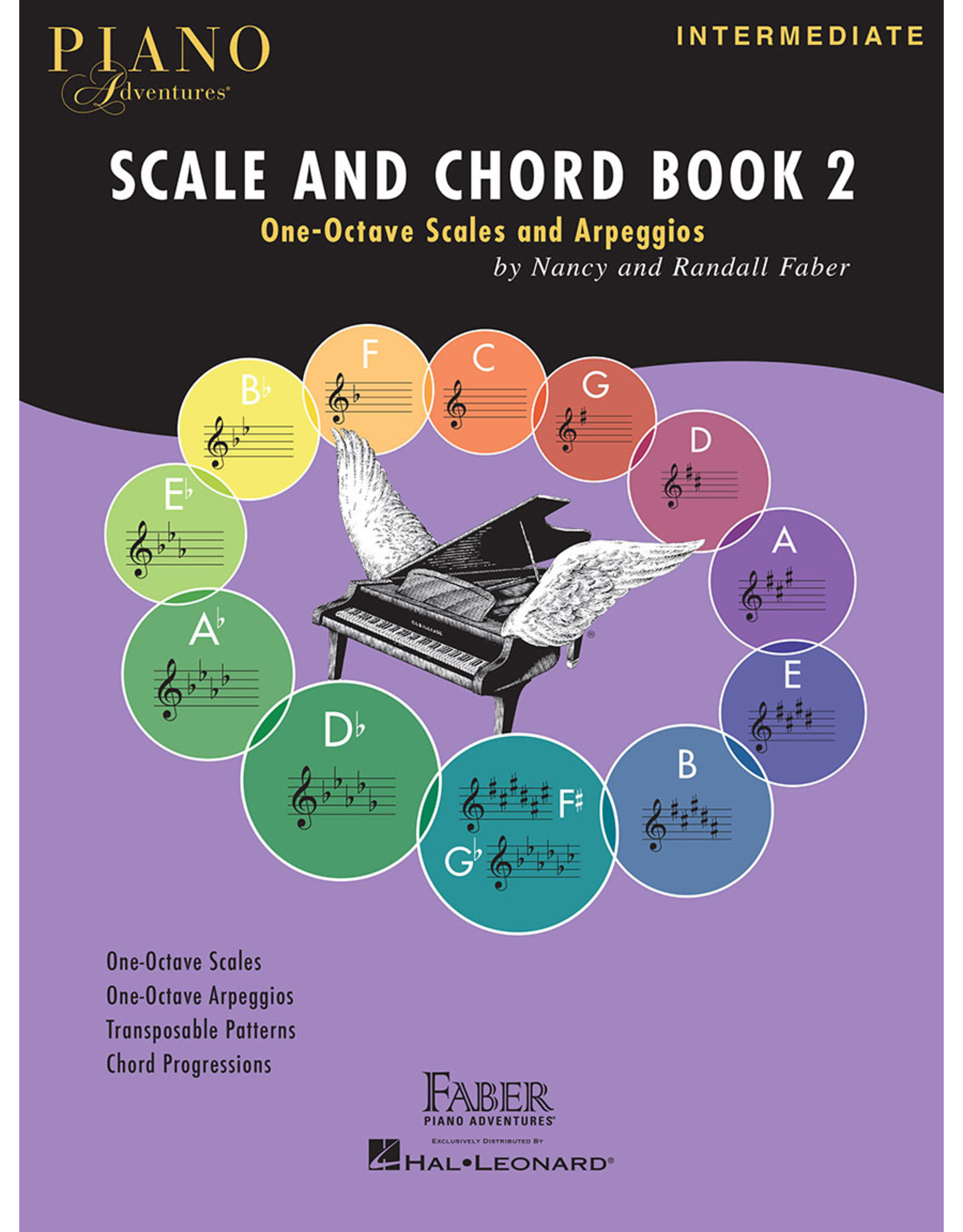 Hal Leonard Faber Piano Adventures Scale and Chord Book 2