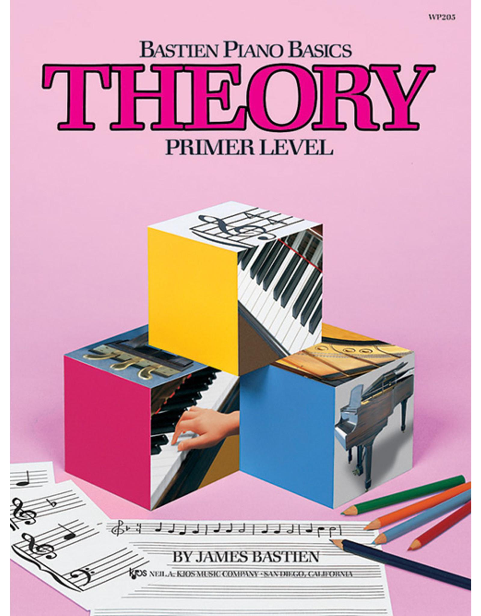 KJOS Bastien Piano Basics Theory