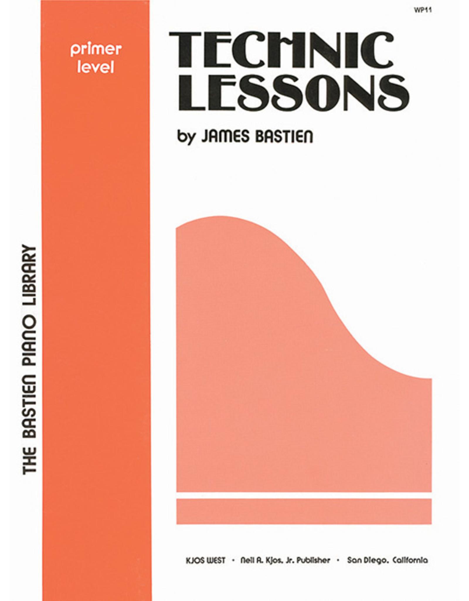 KJOS Bastien Piano Library Technic Book