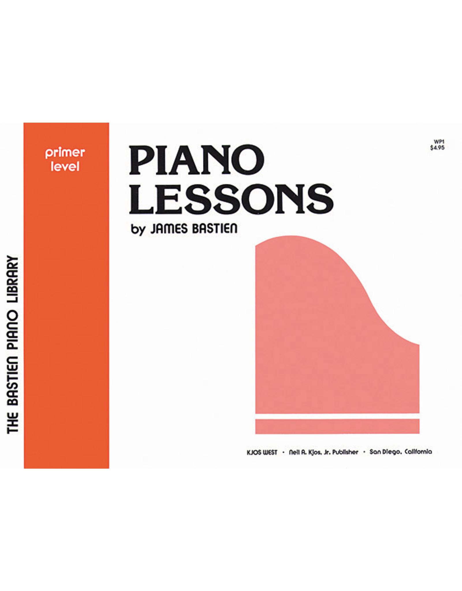 KJOS Bastien Piano Library Lesson Book