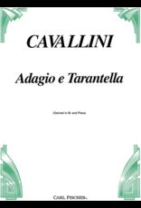 Carl Fischer LLC Cavallini Adagio e Tarantella Clarinet w. Piano Acc. Carl Fischer