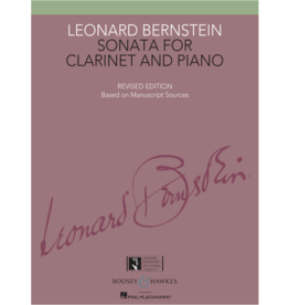 Boosey & Hawkes Bernstein Sonata for Clarinet and Piano