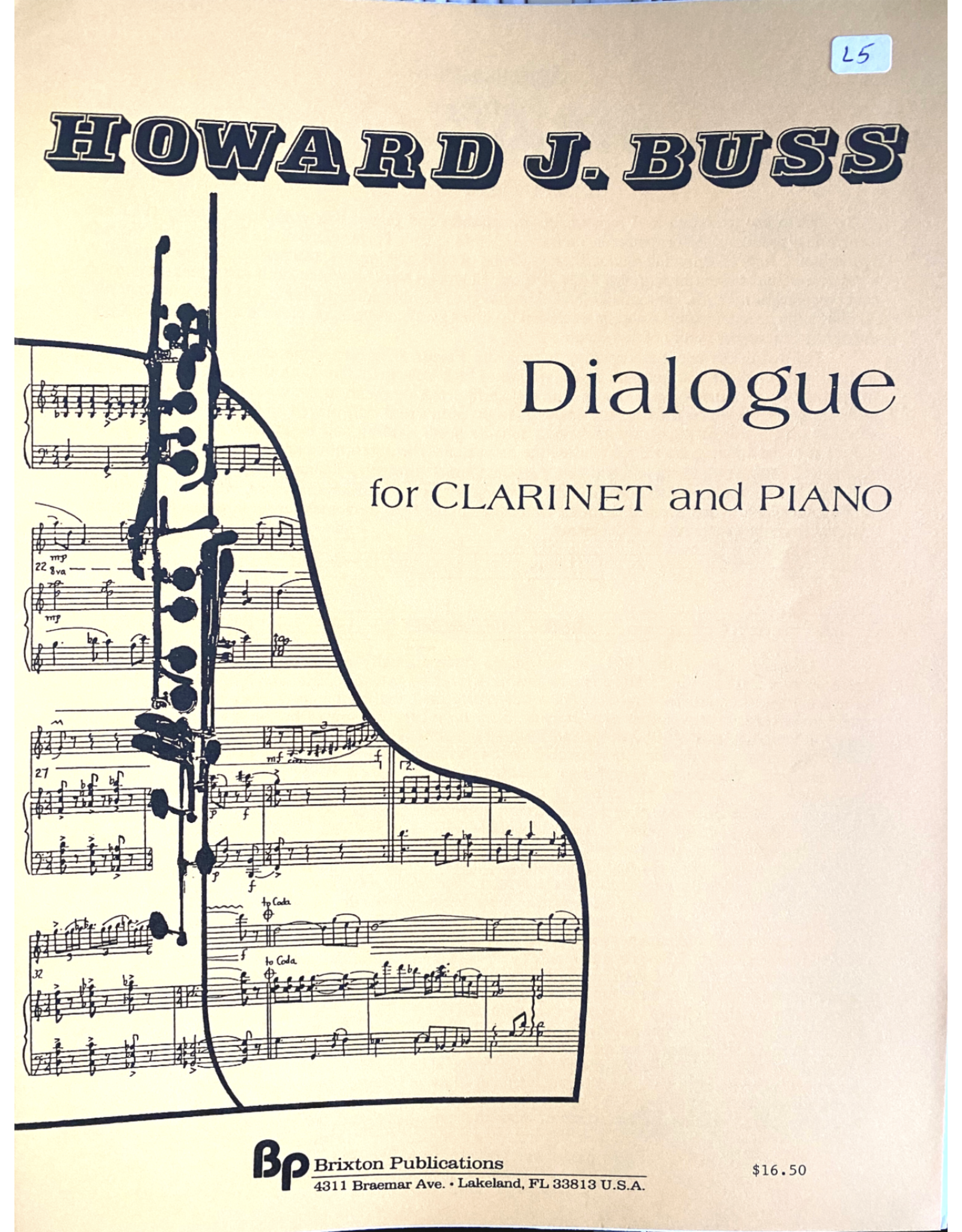Generic Buss - Dialogue for Clarinet and Piano
