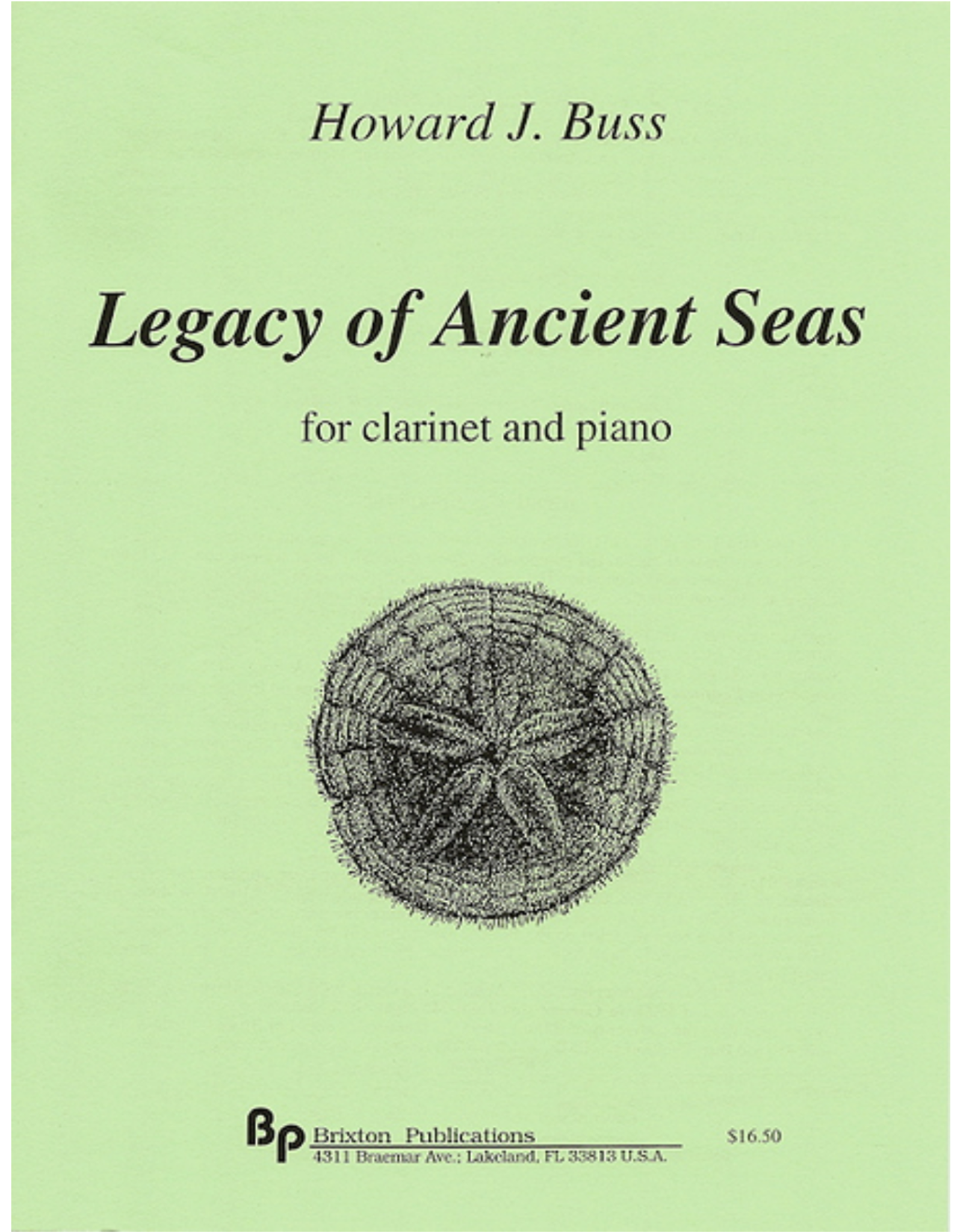 Generic Buss - Legacy of Ancient Seas Clarinet and Piano