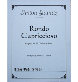 Ethos Publications Stamitz - Rondo Cappricioso Adapted for Bb Clarinet and Piano