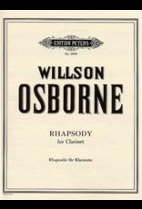 Edition Peters Osborne - Rhapsody for Solo Clarinet 6006