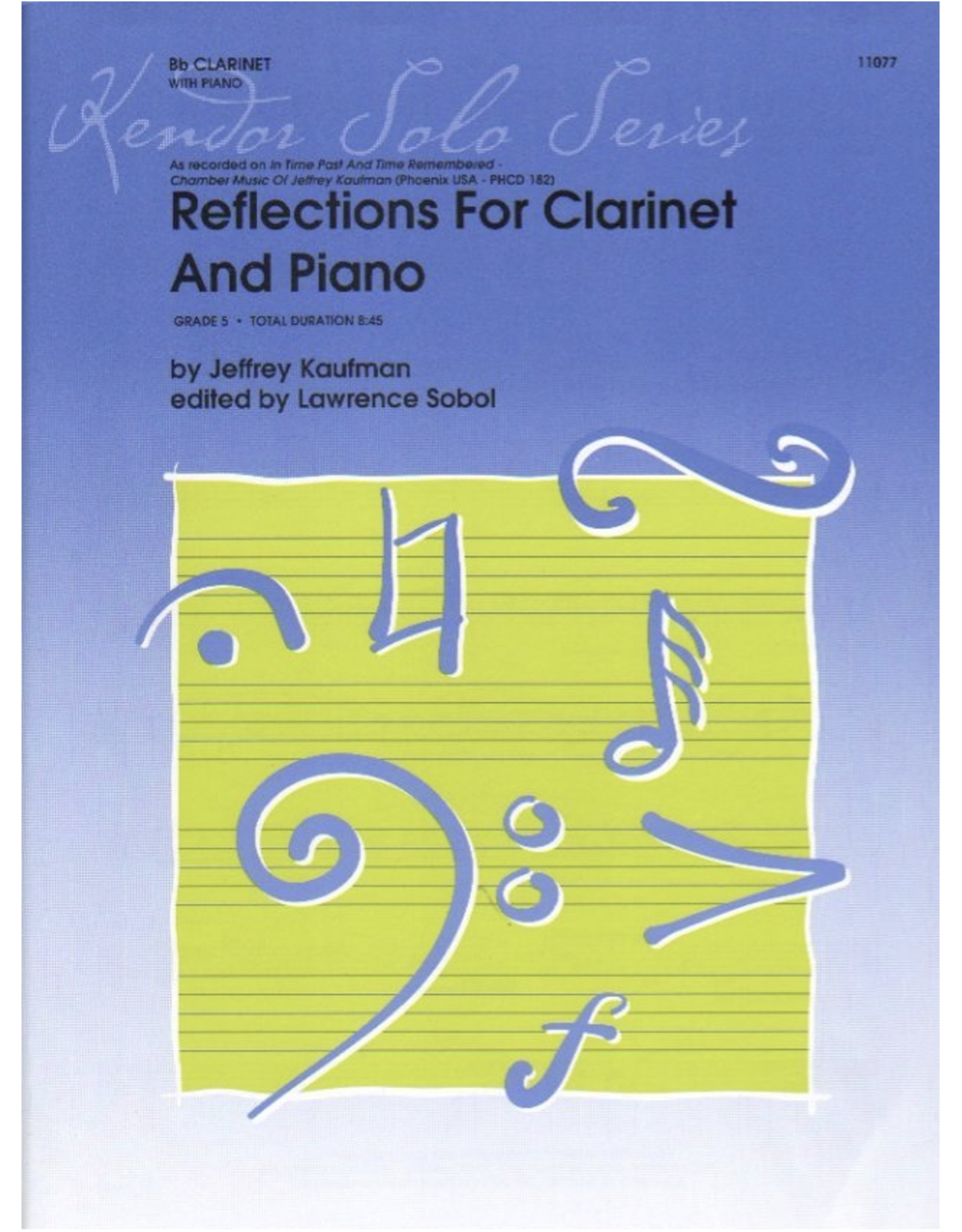 Kendor Kaufman - Reflections for Clarinet and Piano