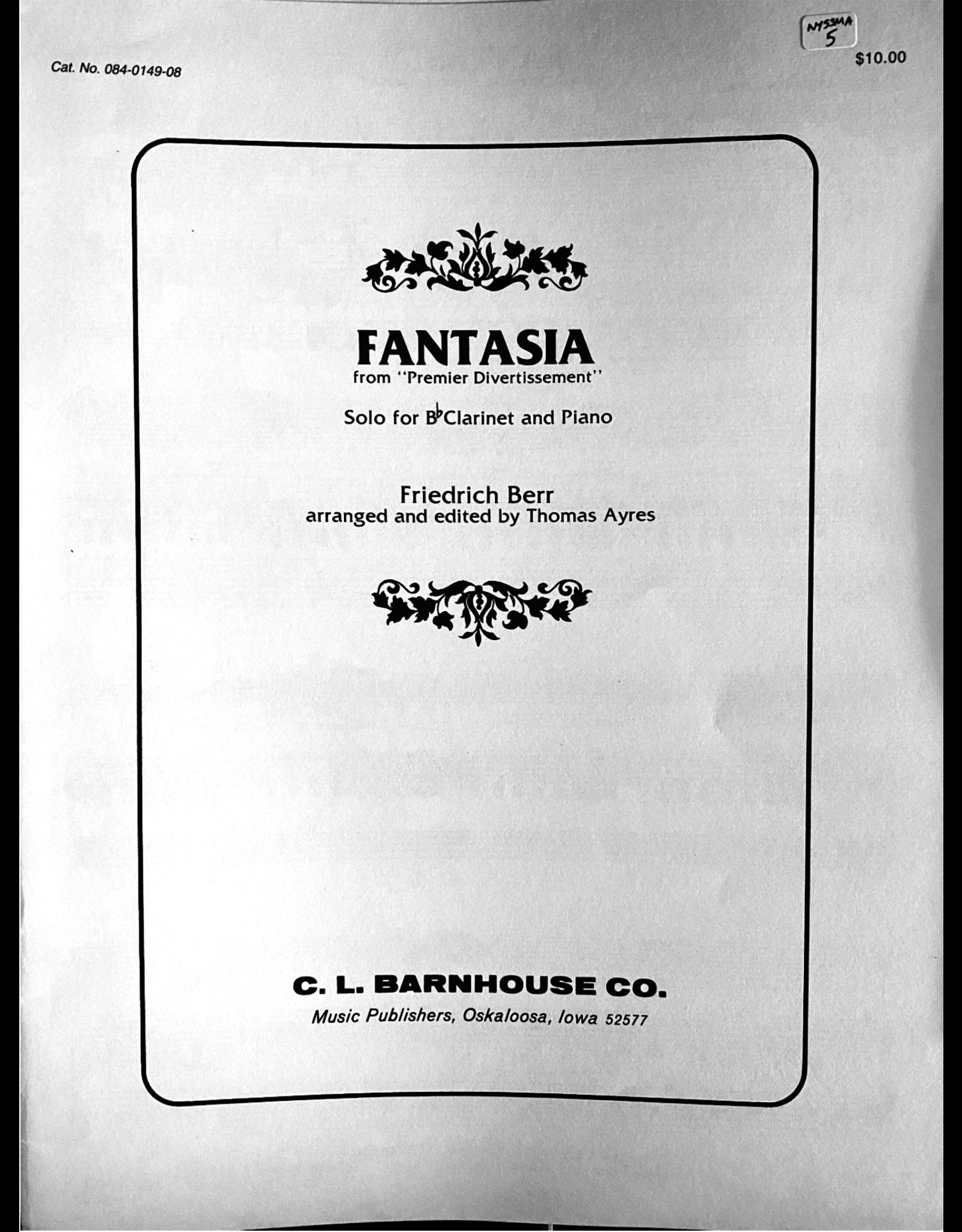 C.L. Barnhouse Berr - Fantasia - Clarinet Solo