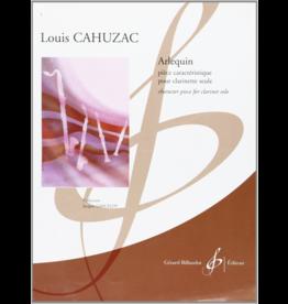 Gerard Billaudot Editeur Cahuzac Arlequin for Clarinet Billaudot